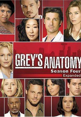Grey's Anatomy Season 4's Poster