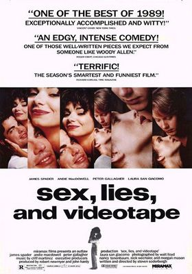 Sex, Lies, and Videotape's Poster