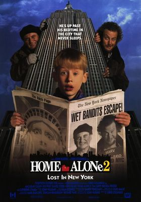 Home Alone 2: Lost in New York's Poster
