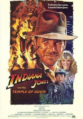 Indiana Jones and the Temple of Doom's Poster