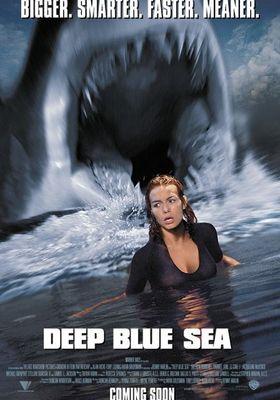 Deep Blue Sea's Poster