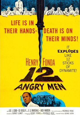 12명의 성난 사람들의 포스터