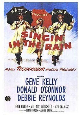 사랑은 비를 타고의 포스터