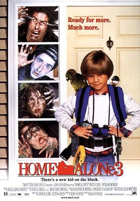 Home Alone 3's Poster