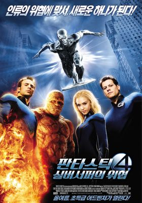Fantastic Four: Rise of the Silver Surfer's Poster