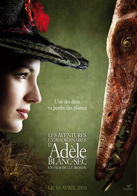 The Extraordinary Adventures of Adèle Blanc-Sec's Poster
