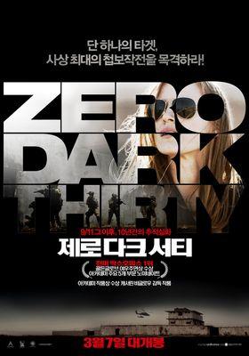 Zero Dark Thirty's Poster