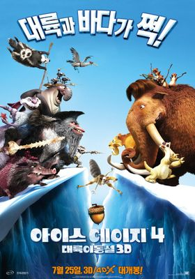Ice Age: Continental Drift's Poster