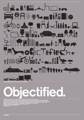 Objectified's Poster