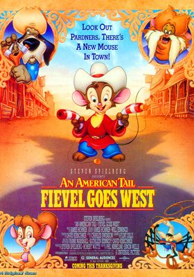 An American Tail: Fievel Goes West's Poster