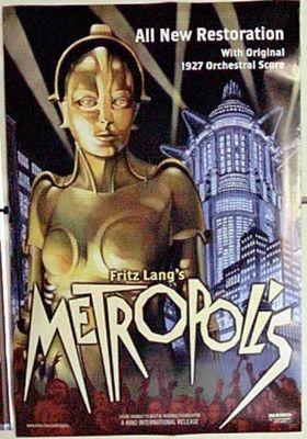 메트로폴리스의 포스터