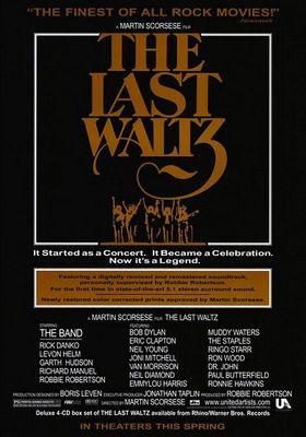 라스트 왈츠의 포스터
