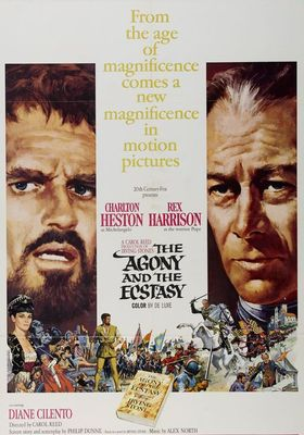 The Agony and the Ecstasy's Poster