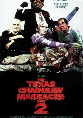 The Texas Chainsaw Massacre 2's Poster