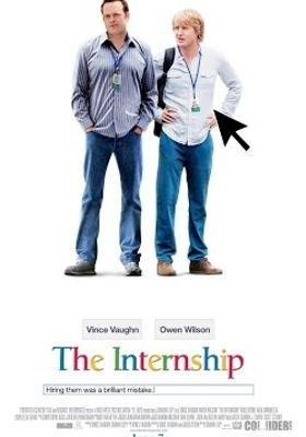 The Internship's Poster