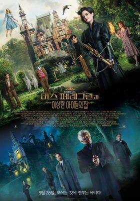 Miss Peregrine's Home for Peculiar Children's Poster