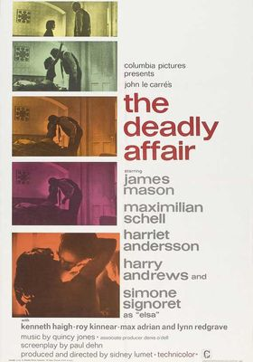 The Deadly Affair's Poster