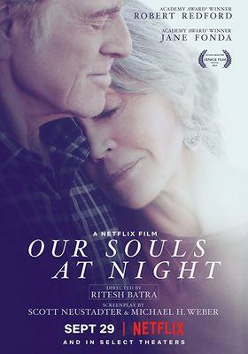 밤에 우리 영혼은의 포스터