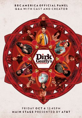 더크 젠틀리의 전체론적 탐정 사무소 시즌 2의 포스터