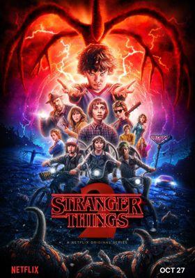 Stranger Things Season 2's Poster
