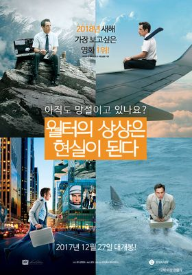 The Secret Life of Walter Mitty's Poster