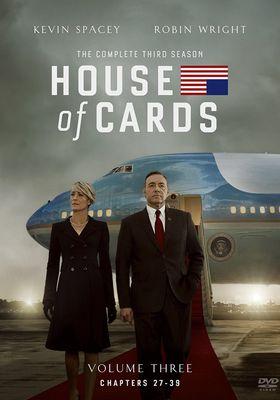 『ハウス・オブ・カード 野望の階段 シーズン3』のポスター
