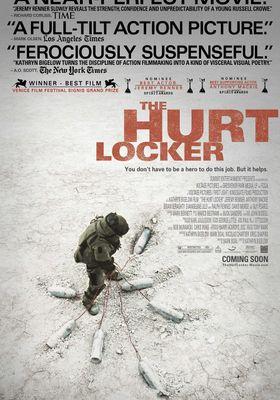 허트 로커의 포스터
