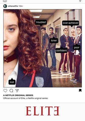 Elite Season 1's Poster