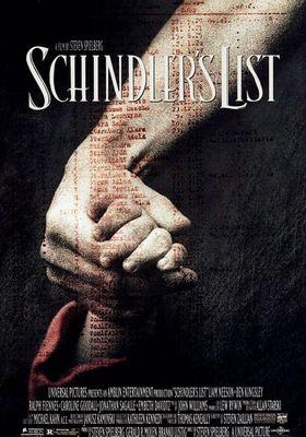 Schindler's List's Poster