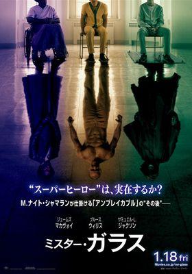 『ミスター・ガラス』のポスター