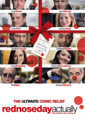 Red Nose Day Actually's Poster