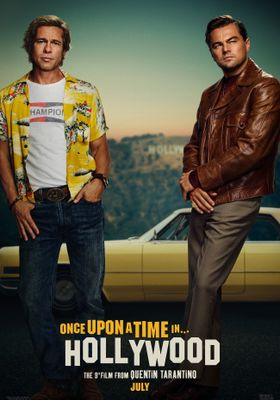 Once Upon a Time in Hollywood's Poster