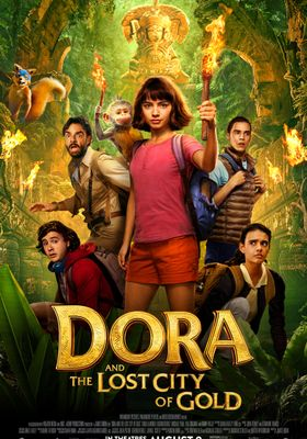 Dora and the Lost City of Gold's Poster