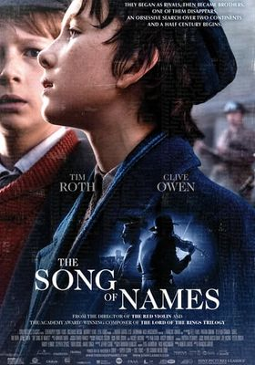 The Song of Names's Poster