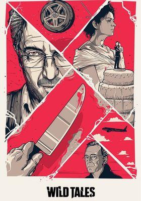 와일드 테일즈—참을 수 없는 순간의 포스터