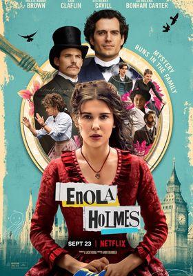 에놀라 홈즈의 포스터