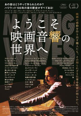 『ようこそ映画音響の世界へ』のポスター