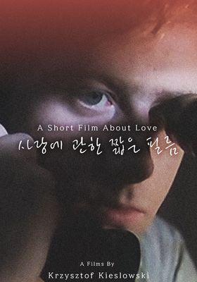 사랑에 관한 짧은 필름의 포스터